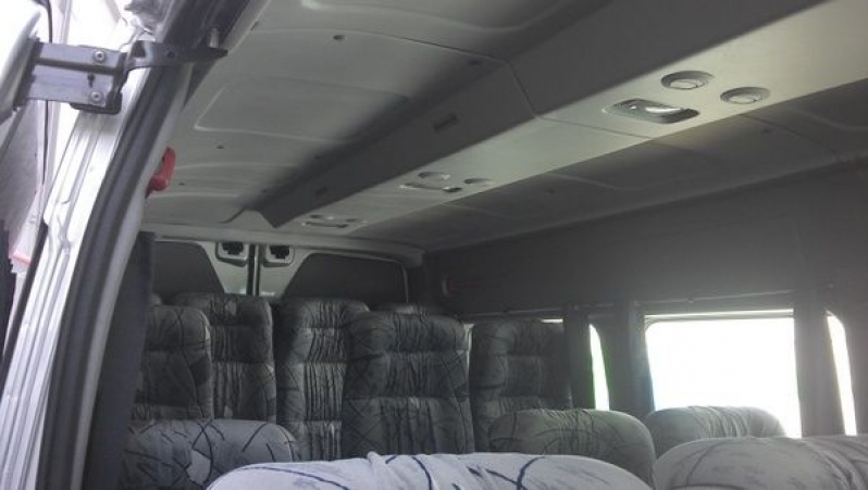 Transporte com Van para Empresas Brás - Transporte de Vans Executivo