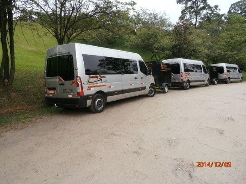 Transporte com Vans para Empresas Vila Buarque - Transporte de Vans Executivo