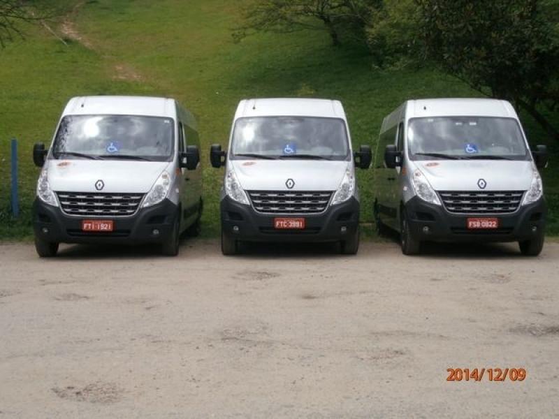 Transporte de Passageiros com Van Ponte Rasa - Transporte de Vans Executivo