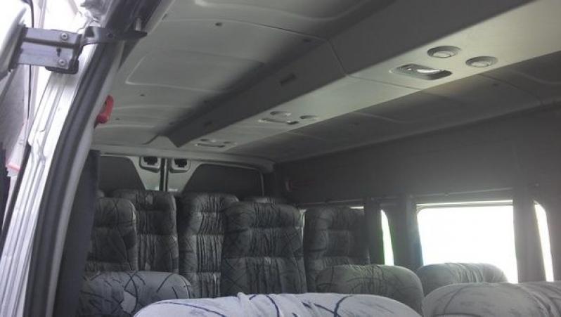 Transporte de Passageiros com Vans Preço Jardins - Transporte de Vans Executivo