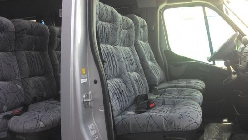 Transporte de Passageiros com Vans Vila Carrão - Transporte de Vans Executivo