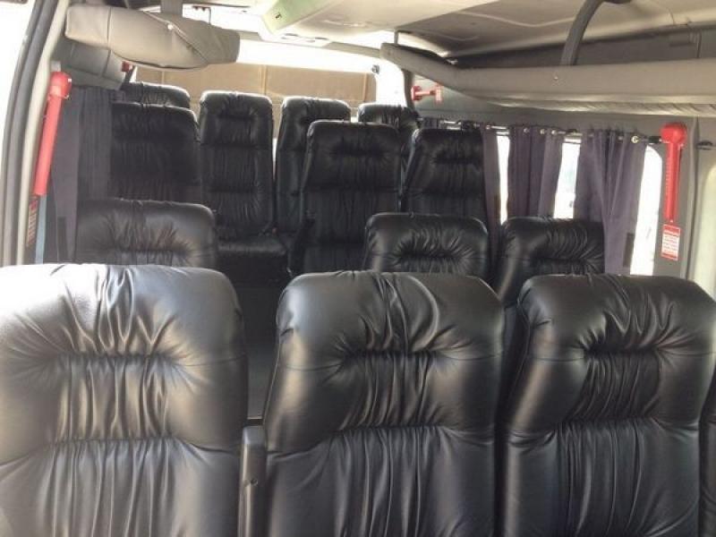Transporte Turístico de Vans Brooklin - Transporte de Vans Executivo