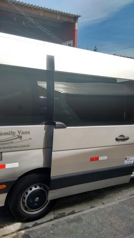 Van para Transportes de Pessoas Pari - Aluguel de Van para Transporte