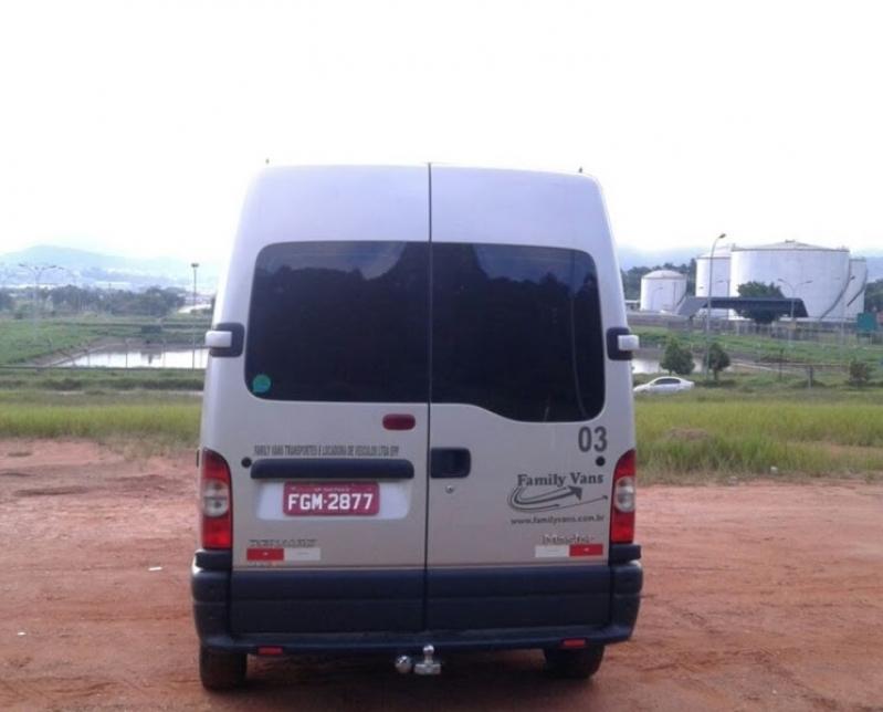 Vans para Eventos Corporativos Santo Amaro - Aluguel de Van para Transporte