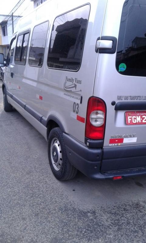 Vans para Grupo de Passageiros Preço Vila Medeiros - Aluguel de Van para Transporte