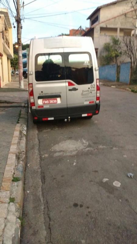 Vans para Transporte de Funcionários Jardim América - Aluguel de Van para Transporte