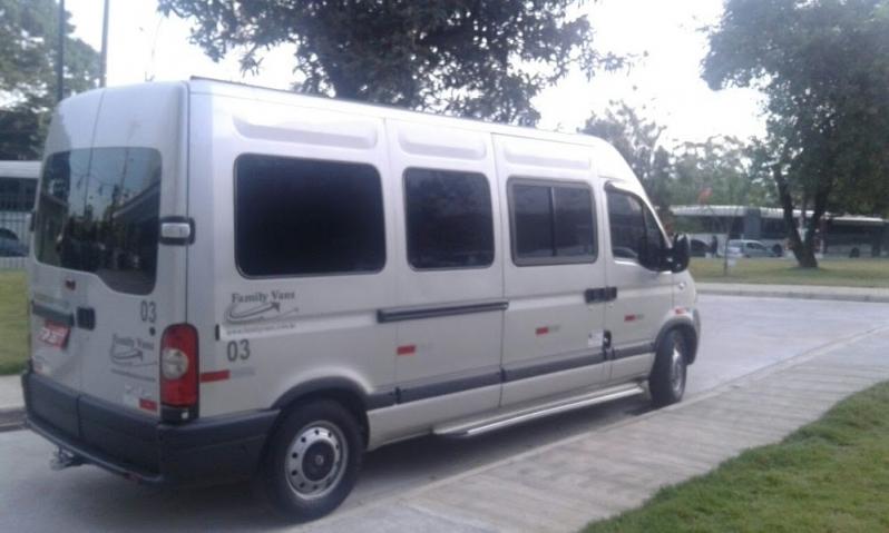 Vans para Transporte para Congresso Preço Vila Sônia - Aluguel de Van para Transporte