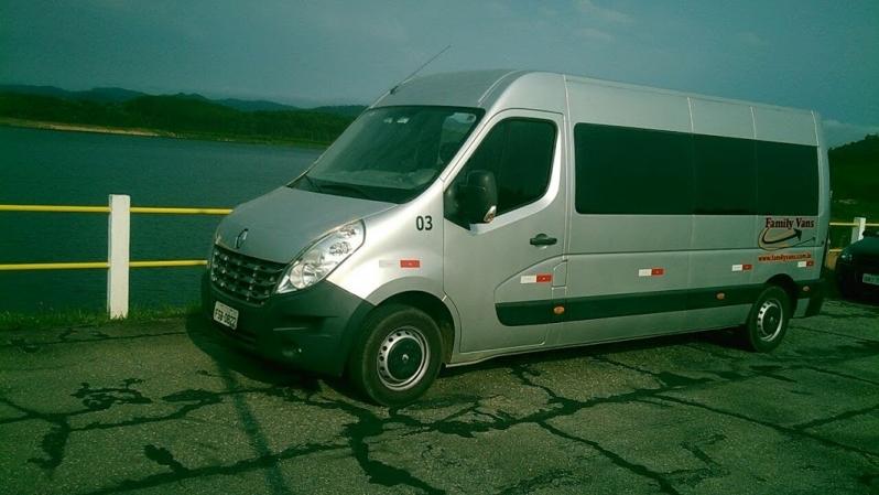 Vans para Transporte para Empresas Preço Santa Cecília - Aluguel de Van para Transporte