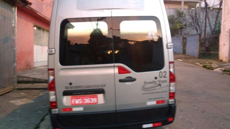 Vans para Transporte para Eventos Moema - Aluguel de Van para Transporte