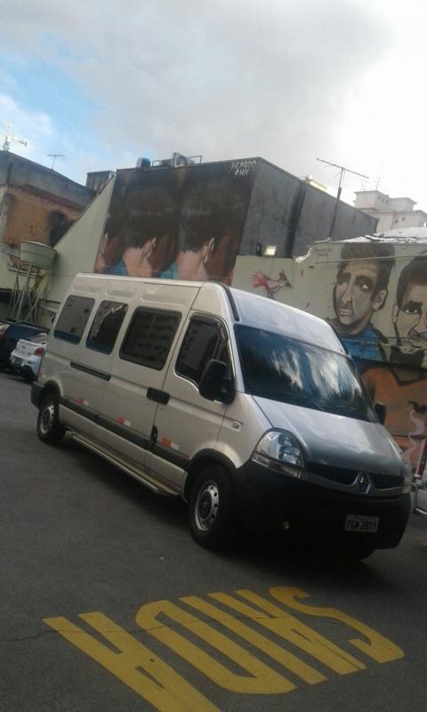 Vans para Viagem Artur Alvim - Aluguel de Vans para Viajar